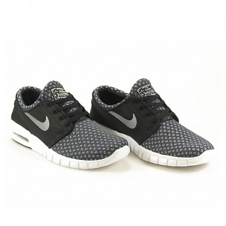save off 3e5df 9dae7 Nike Sb Stefan Janoski Max black metallic cool grey white