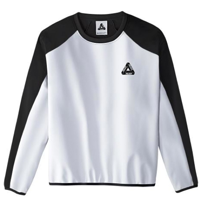 White Adidas Neck Multicolor Black Palace X Crew Wr Pkn0wO