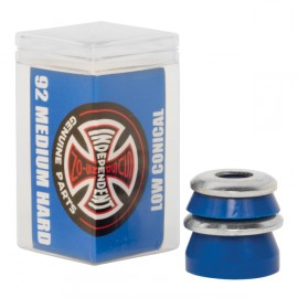 Independent Low Conical medium bushings 92A blue