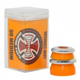 Independent Low Conical medium bushings 90A orange