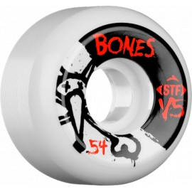 Bones STF V5 Side Cut white 54mm