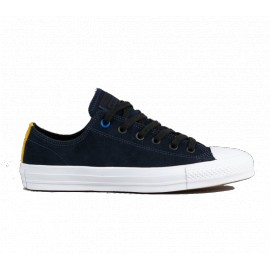 Converse Ctas Pro Suede Ox obsidian black white
