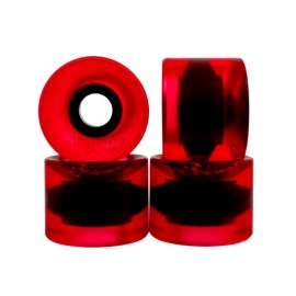 Penny Wheels Cruiser 59mm clear red
