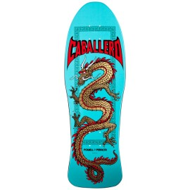 """Powell Peralta Steve Caballero Re-Issue China Dragon turquoise 10"""""""