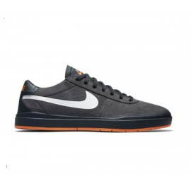 Nike SB Bruin Hyperfeel XT anthracite white clay orange