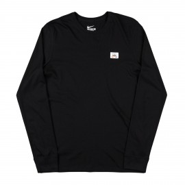 Nike SB Numbers L/S shirt black black