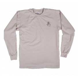 Numbers 12:45 Angel Tee L/S ivory