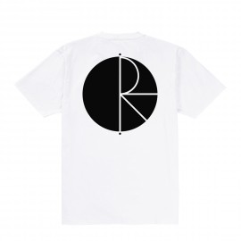 Polar Fill Logo tee S/S white