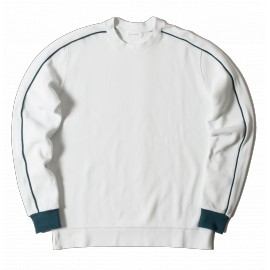 Futur Playground Crewneck paon green white