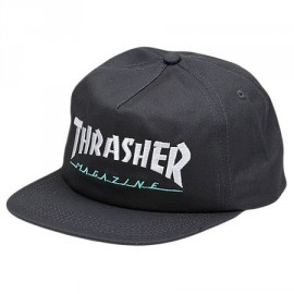 Thrasher Magazine Logo Emb Two Tone Hat Cap grey