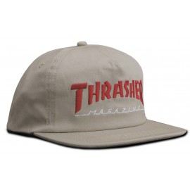 Thrasher Magazine Logo Emb Two Tone Hat Cap tan