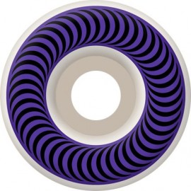Spitfire Classic white purple 58mm