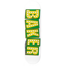 Baker Skateboards Bake Junt Slick white 8""