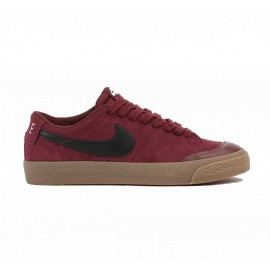 Nike SB Blazer Low XT dark team red black gum light brown sail