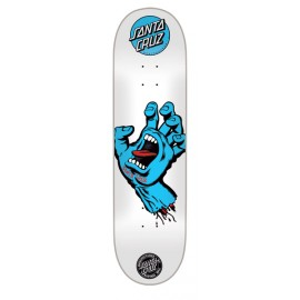 Santa Cruz Screaming Hand blue white 8""
