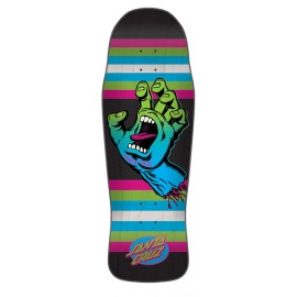 Santa Cruz Screaming Hand deck Neon Age 10,34""
