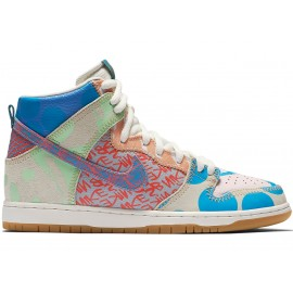 Nike SB Dunk High Premium Thomas Campbell iced jade circuit orange sail
