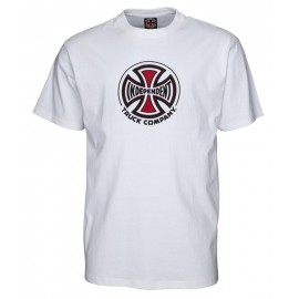 Independent Truck Co Tee S/S white