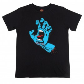 Santa Cruz Screaming Hand Tee S/S black