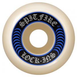 Spitfire Formula Four Lock Ins 101D white 52mm