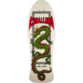 Powell Peralta Steve Caballero Chin Dragon white Re Issue 10""