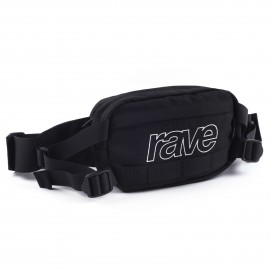 Rave Skateboards Hip Pack black purple