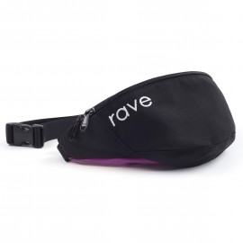 Rave Skateboards Waist Pack black