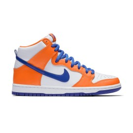 Nike SB Dunk high safety orange hyper blue white