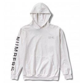 Numbers Wordmark Hood off white