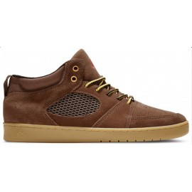 Es Accel Mid Slim brown gum