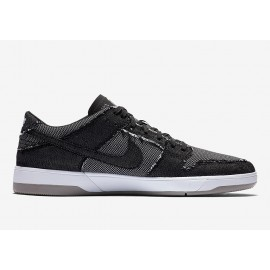 "Nike SB Dunk Low Elite QS ""Medicom"" black black white medium grey"