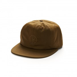 Polar Waxed Cotton 6-Panels cap brown
