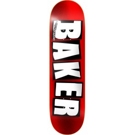 Baker Skateboards Brand Logo red foil 8""