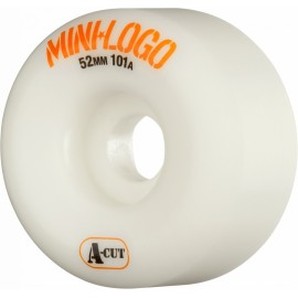 Mini Logo A-Cut white 52mm 101A