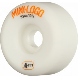 Mini Logo A-Cut white 53mm 101A
