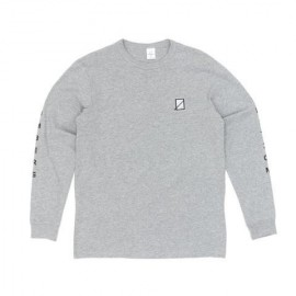 Numbers Vertical Stack Tee L/S athletic heather