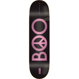 Dgk Boo Johnson Peace Boo black 8.06""