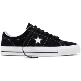 Converse One Star Pro OX black white white