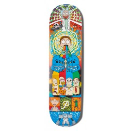 Primitive Rick & Morty Collage deck 8.125""
