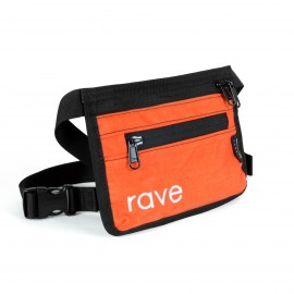 Rave Skateboards Slim Fanny Pack orange black
