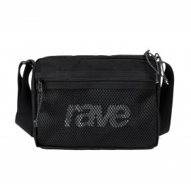 Rave Skateboards Shoulder Bag black