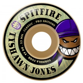 Spitfire Tyshawn Jones Formula Four Burners classic 99D white 53mm