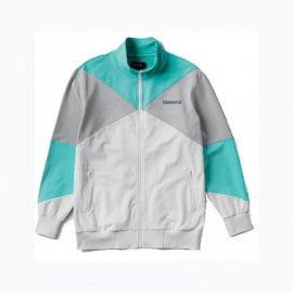 Diamond Cherry Park Warm Up Jacket white
