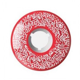 Element Keith Haring wheels red 62mm