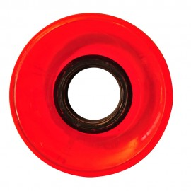 Naked wheels cruiser 83A 60mm red clear