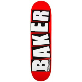 Baker Brand logo deck white red 8.125""