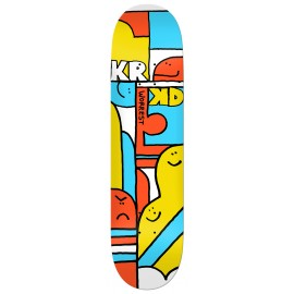 Krooked Bobby Worrest deck Faces 8.25""