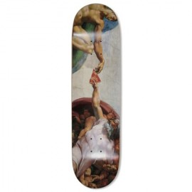 Pizza skateboards Michelangelo deck 8.375""