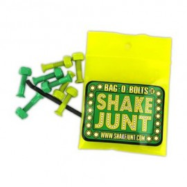 Shake Junt Bag O Bolts green yellow visserie allen 1""