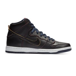 Nike SB Dunk High Pro QS NBA black black college navy